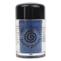 Creative Expressions - Cosmic Sparkle Shakers - Imperial Blue