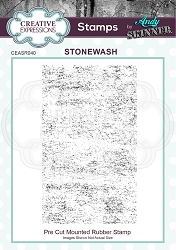 Creative Expressions - Andy Skinner Stonewash Cling Stamp