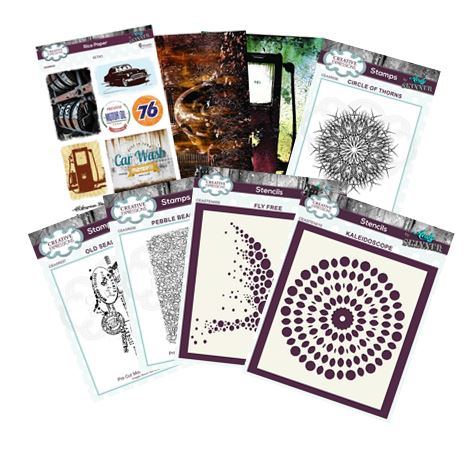 Creative Expressions - Andy Skinner stamps, stencils & rice paper
