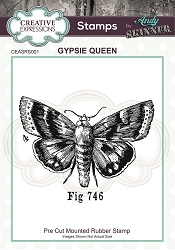 Creative Expressions - Andy Skinner Gypsie Queen Cling Stamp