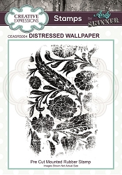 Creative Expressions - Andy Skinner Distressed Wallpaper Cling Stamp