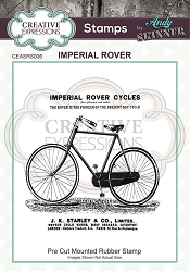 Creative Expressions - Andy Skinner Imperial Rover Cling Stamp