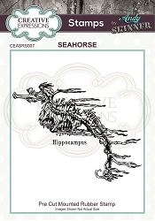 Creative Expressions - Andy Skinner Seahorse Cling Stamp