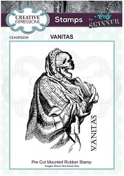 Creative Expressions - Andy Skinner Vanitas Cling Stamp