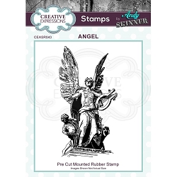 Creative Expressions - Andy Skinner Angel Cling Stamp