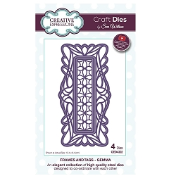 Sue Wilson Designs - Die - Frames & Tags Collection - Gemma