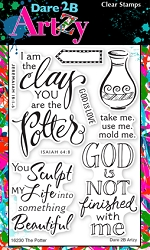 Dare 2B Artzy - Clear Stamp - The Potter