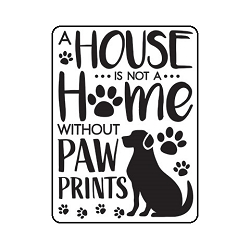 Darice Embossing Folder - (A2 Size) - Dog House
