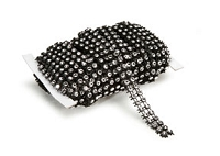 Darice - Bling on a Roll (3mm x 5yds) - Black Silver