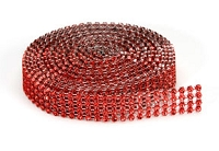 Darice - Bling on a Roll (3mm x 3yds) - Red