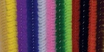 Darice-6mm Chenille Stems-Multi Color