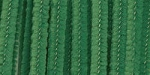 Darice-6mm Chenille Stems-Green