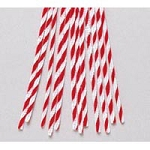 Darice-6mm Chenille Stems-Candy Cane Twist
