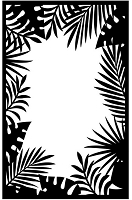 Darice Embossing Folder (Size A2) - Jungle Border