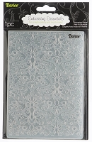 Darice-Embossing Folder- 5x7 - Damask