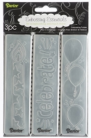 Darice-Embossing Folder- (Set of 3) - Birthday