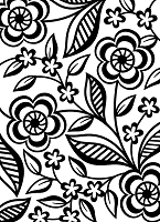 Darice Embossing Folder (Size A2) - Dainty Flower