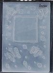 Darice - Embossing Folder - Butterfly Frame (Size A2)