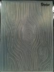 Darice Embossing Folder - Wood Grain (Size A2)