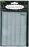 Darice Embossing Folder (Size A2) - Rulers Assortment