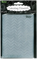 Darice Embossing Folder (Size A2) - Chevron