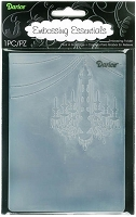 Darice Embossing Folder (Size A2) - Chandelier