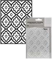 Darice Embossing Folder - (A2 Size) - Tile Pattern