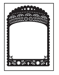Darice Embossing Folder - (A2 Size) - Decorative Border