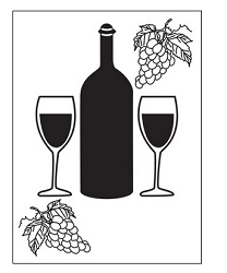 Darice Embossing Folder - (A2 Size) - Wine