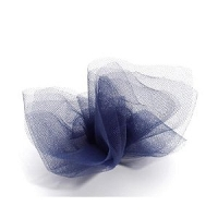 Darice - Tulle - 6 inch width - 25 yard roll - Navy