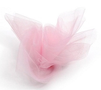 Darice - Tulle - 6 inch width - 25 yard roll - Pink