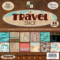Die Cuts With A View - Travel Collection - 8
