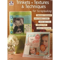 Design Originals - Trinkets, Textures & Techniques for Scrapbooking by Suzanne McNeill