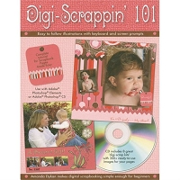 Design Originals - Digi Scrappin' 101 with CD by Amanda Dykan