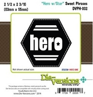 Die-Versions Die - Sweet Phrases - Hero with Star