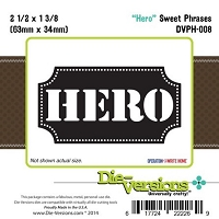 Die-Versions Die - Sweet Phrases - Hero