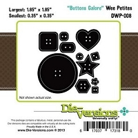 Die -Versions Die - Wee Petites - Buttons Galore