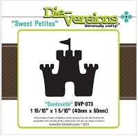Die-Versions Die - Sweet Petites - Sand Castle