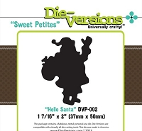 Die-Versions Die - Sweet Petites - Hello Santa