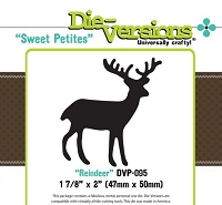 Die-Versions Die - Sweet Petites - Reindeer
