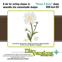 Die-Versions Die - Shapes - Design A Daisy