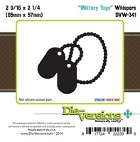 Die-Versions Die - Whispers - Military Tags