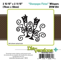 Die-Versions Die - Whispers - Champagne Flutes