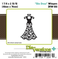 Die-Versions Die - Whispers - Slim Dress