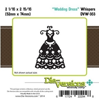 Die-Versions Die - Whispers - Wedding Dress