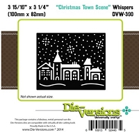 Die-Versions Die - Whispers - Christmas Town Scene