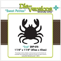 Die-Versions Die - Sweet Petites - Crab