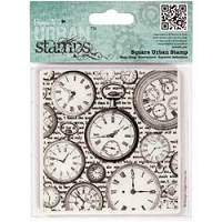 DoCrafts - Papermania Cling Urban Stamp - Time Pieces :)
