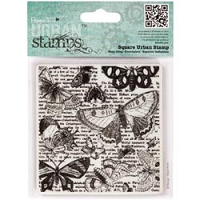 DoCrafts - Papermania Cling Urban Stamp - Lepidopterology :)