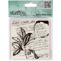 DoCrafts - Papermania Cling Urban Stamp - Folium